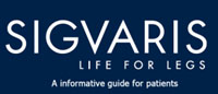 Sigvaris life for legs logo compression stockings